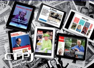 """Sur papier ou sur tablette, le format """"journal"""" permet d'arrêter le temps. Sans en perdre, pour la tablette."""