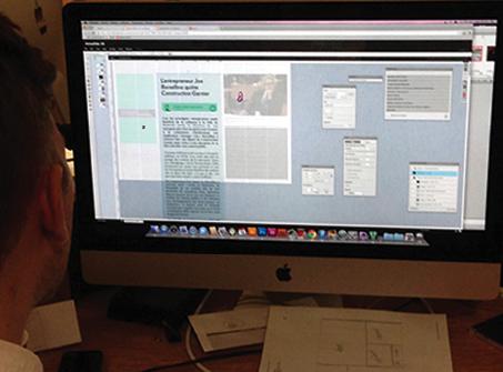 Le logiciel de mise en écran de la Presse +