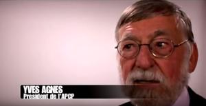 Yves Agnès est aujourd'hui président de l'AOCO. Photo extraite de son interview vidéo en 2012 sur la déontologie et les conseils de presse. https://www.youtube.com/watch?v=ItlvdCXKwCs